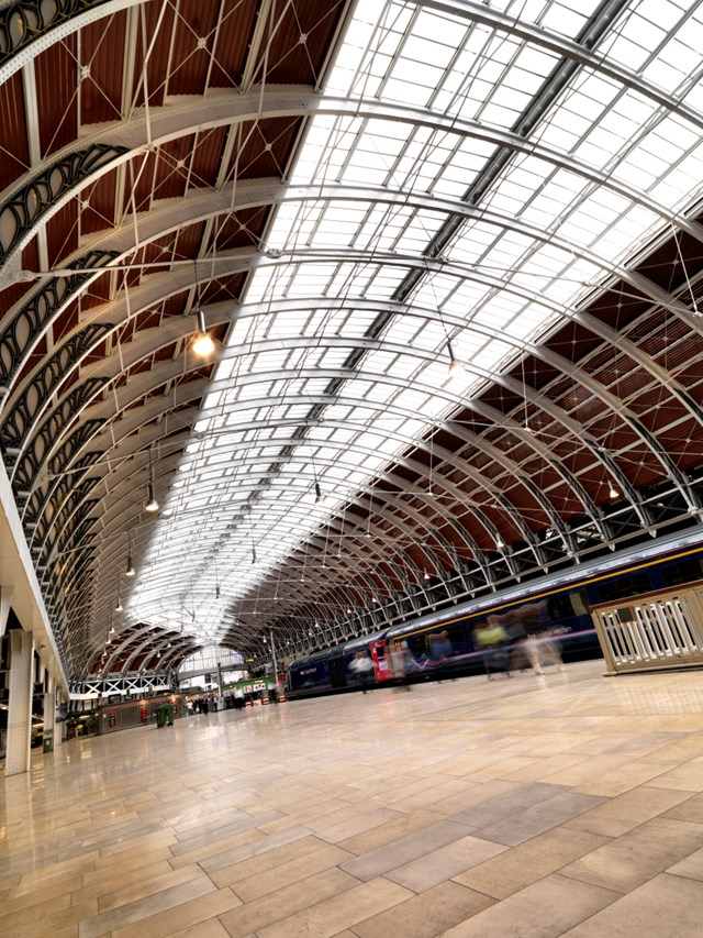 Span 4 refurbishment at Paddington station: Span 4 refurbishment at Paddington station