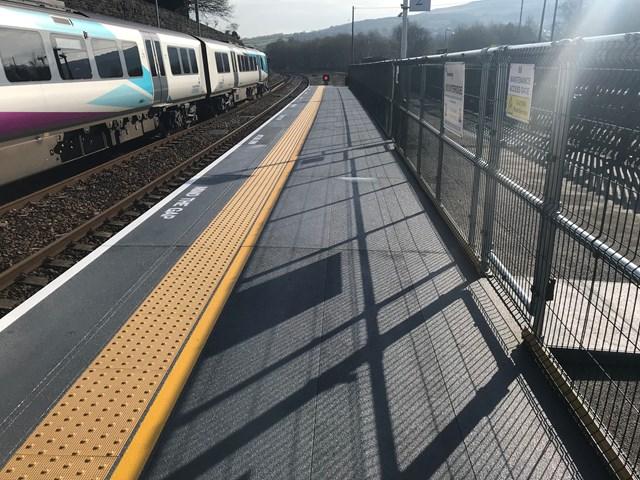 Improved platform two at Marsden station-2