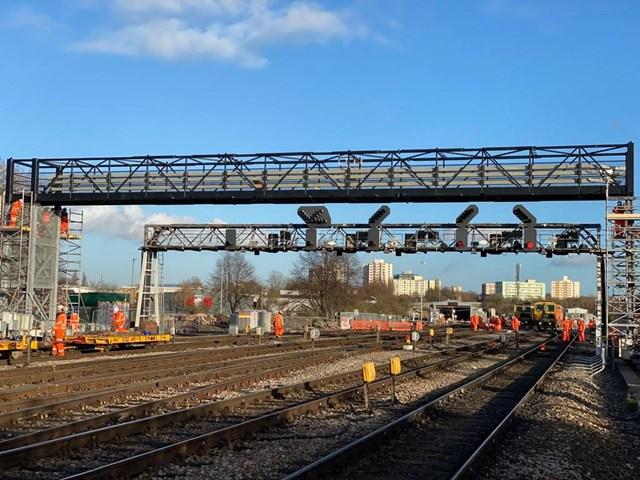 Bristol East new gantry installation_3