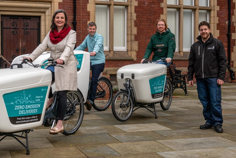 New electric-cargo bike loan scheme for sustainable deliveries in Leeds begins: Electric cargo bike loan scheme