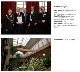 MITIE receives national award for Dudley Council painting project
