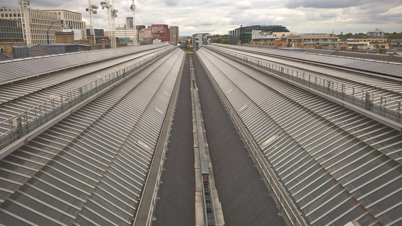 Network Rail reaping the benefit of green initiatives at King's Cross railway station: Network Rail reaping the benefit of green initiatives at King's Cross railway station