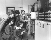Siemens apprentices 1978 - top row LtoR -Steve Holmes Dave Pickles - bottom row - Alan Norbury and Rick Bason
