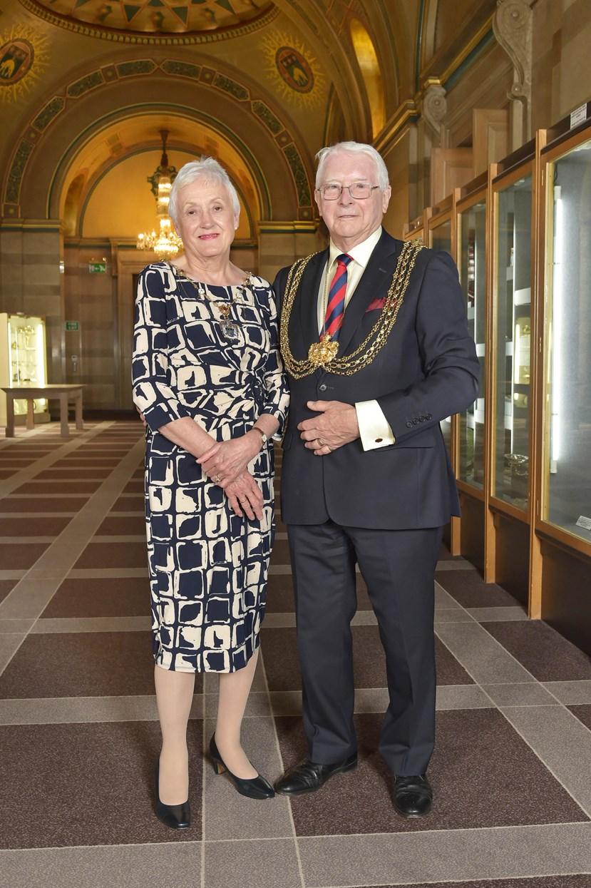 New Lord Mayor of Leeds officially announced: lordmayorcllrgrahamlattyandcllrpatlatty.jpg