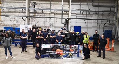 500th bogie overhaul completed at Siemens Mobility's Bogie Service Centre: Bogie-Service-Centre-500 CROP