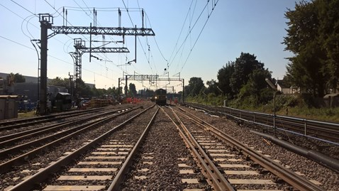 North Wembley junction tamping 1-2 September