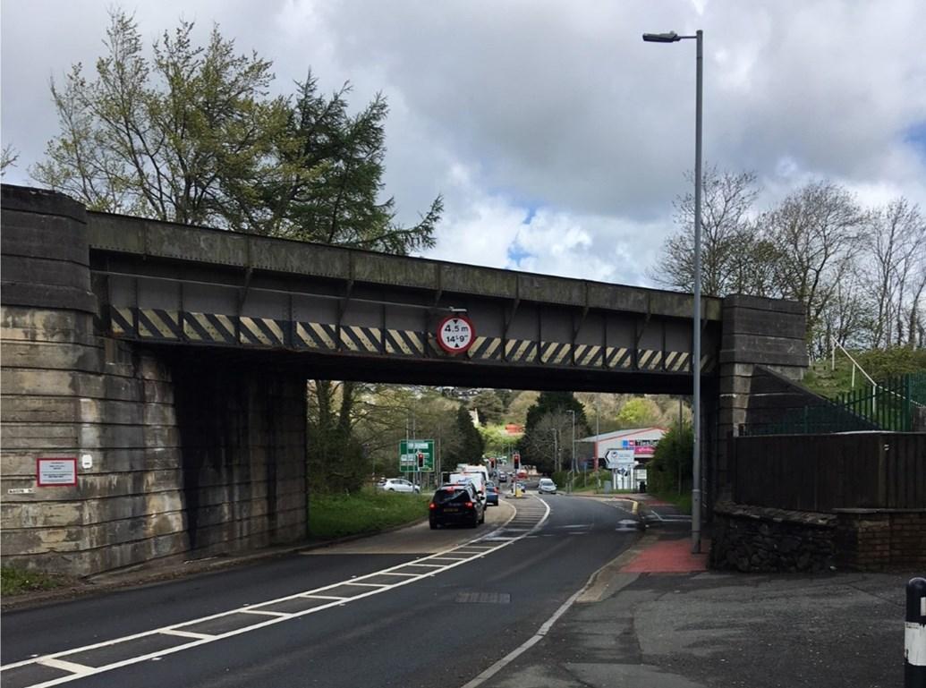 Haverfordwest residents reminded of upcoming Milford Road bridge replacement: Milford Road Railway Bridge-3