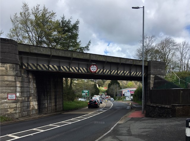 Haverfordwest residents reminded of upcoming Milford Road bridge replacement: Milford Road Railway Bridge-3