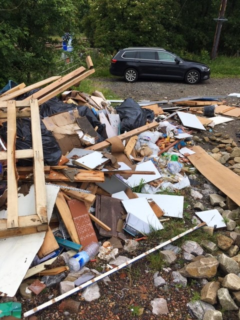 Burnley fly tipping 1