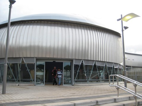 Passengers can access Newport station from the north of the city