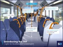 Class 707 infographic interior