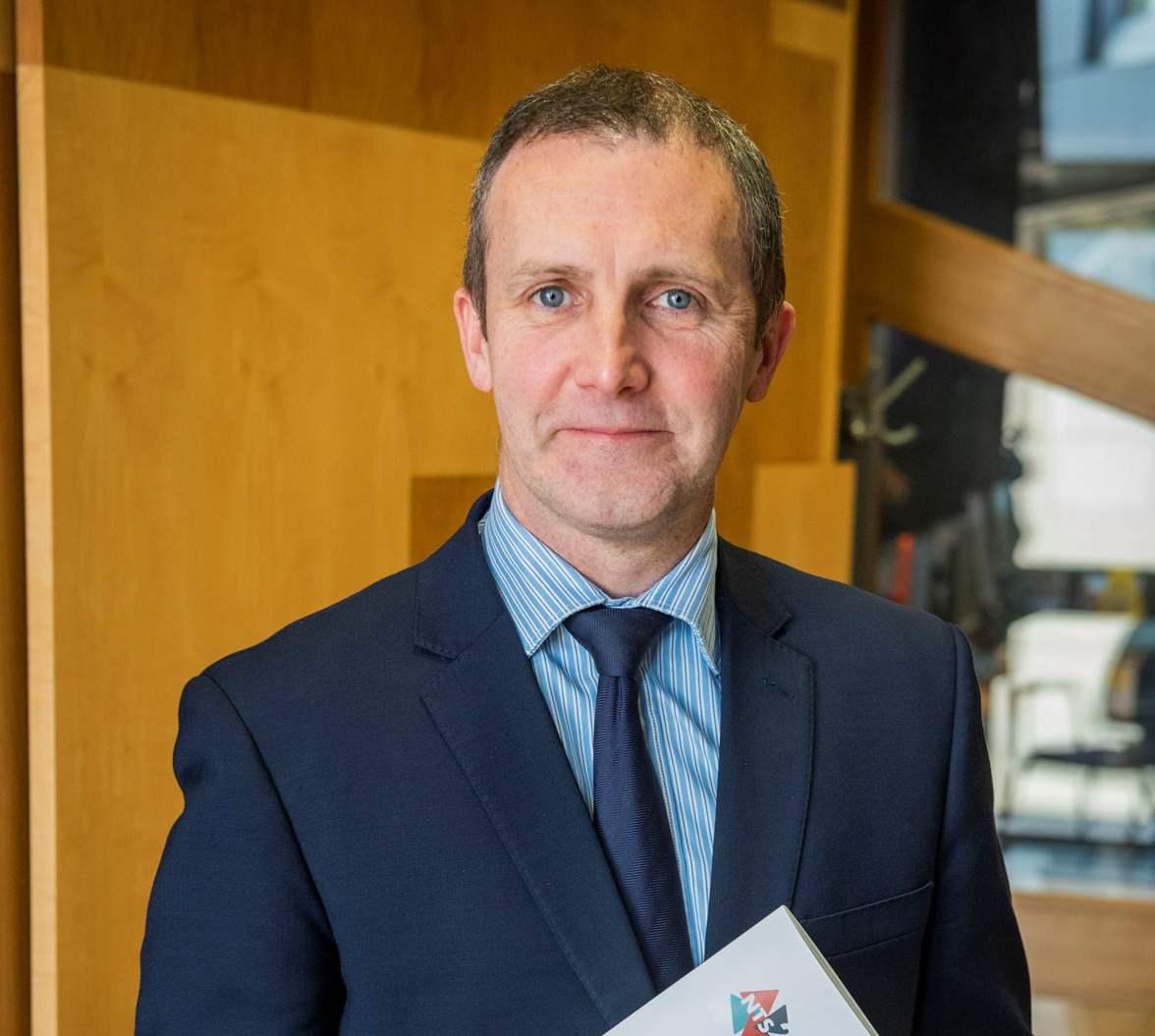 Michael Matheson at Parliament