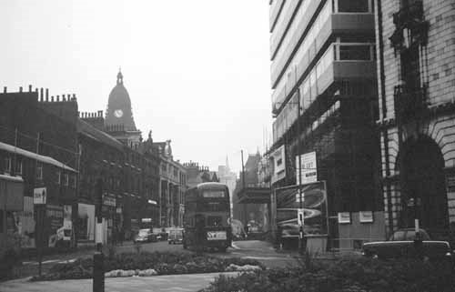 Fast x Slow Fashion online: East Parade as it appeared in 1966. Credit Leodis, Anna of Leeds.