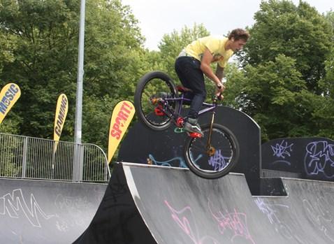 Cycle ramp fun at No Messin' Live! Southampton