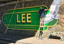 Lee Mural action