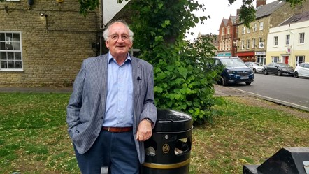 Norman MacRae and new bin