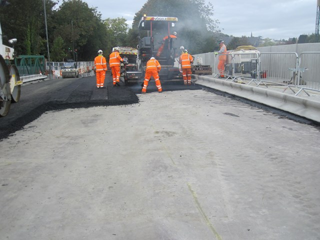 1 Oct Kerse Road tarring work