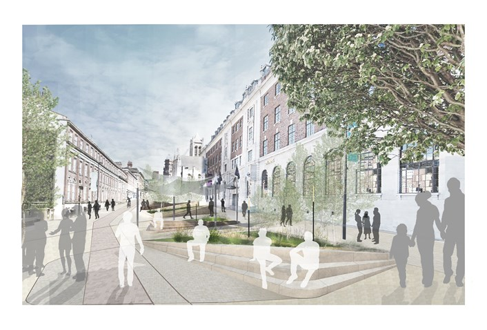 Senior councillors approve new car free public realm in heart of the city: appendix1-publicrealm-242470.jpg