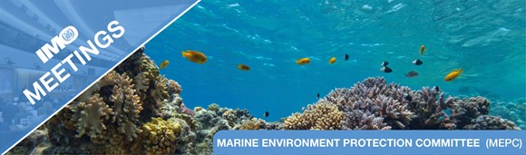 Marine Environment Protection Committee (MEPC), 72nd session – Media information: IMO meetings banner MEPC EN