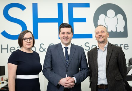 £1.4M R&D grant from Scottish Enterprise supports East Kilbride software firm's £4M expansion plans: 02 SHE Software grant