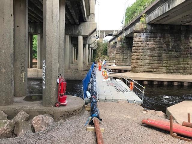 River Eden prep work Carlisle 2