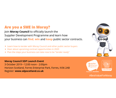 Support for businesses to win Moray Council contracts: Support for businesses to win Moray Council contracts