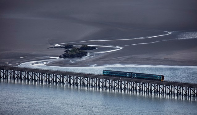 World class photography exhibition embarks on journey of UK stations: Jon Martin's winning entry