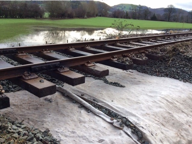 Conwy Valley line reopens ahead of schedule: Damaged caused by flooding to Conwy Valley line