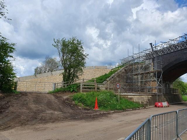 Work at Manton bridge