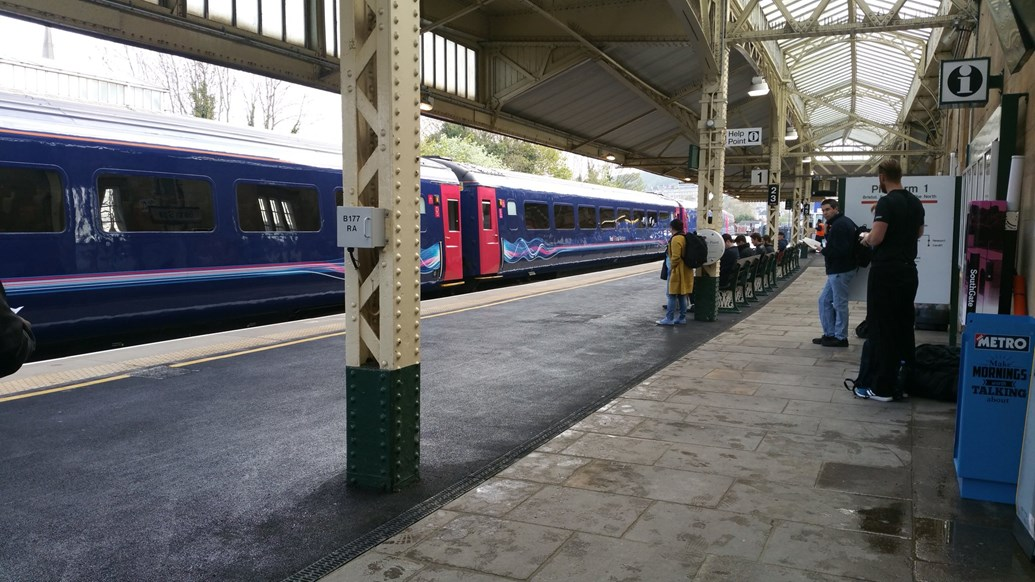 Normal service resumes following Bath Spa station work