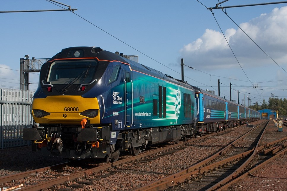 Class 68 is coming to Cumbria thanks to Northern and DRS: Class 68