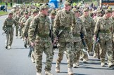 Armed-forces-army-holyrood-park: iStock - File #24457001 - 'Military Forces Parade in Edinburgh' - 02-10-2013