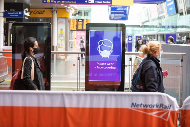 Network Rail introduces range of measures to keep passengers safe from coronavirus: network rail-1