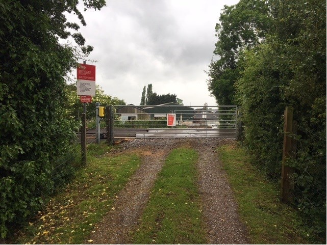 Level crossing users given safety reminder as new timetable changes rail services in Cumbria: Corks Farm UWC (2)