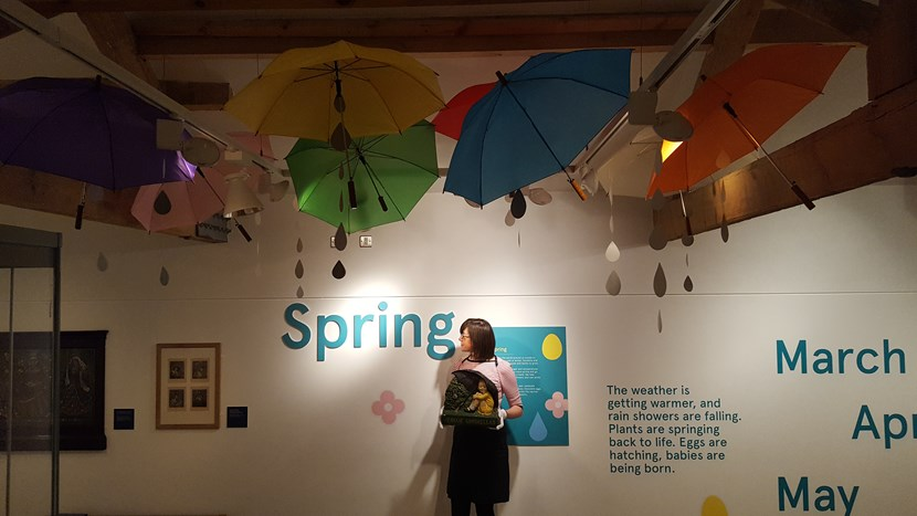 April showers inspired quirky spring-themed advert: 20170406-093909.jpg