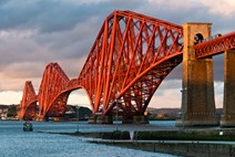 Forth Bridge: © Crown Copyright reproduced courtesy of Historic Scotland.