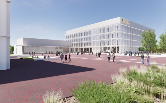 Balfour Beatty appointed as contractor for new Dunfermline campus: Fife College New Campus (1)