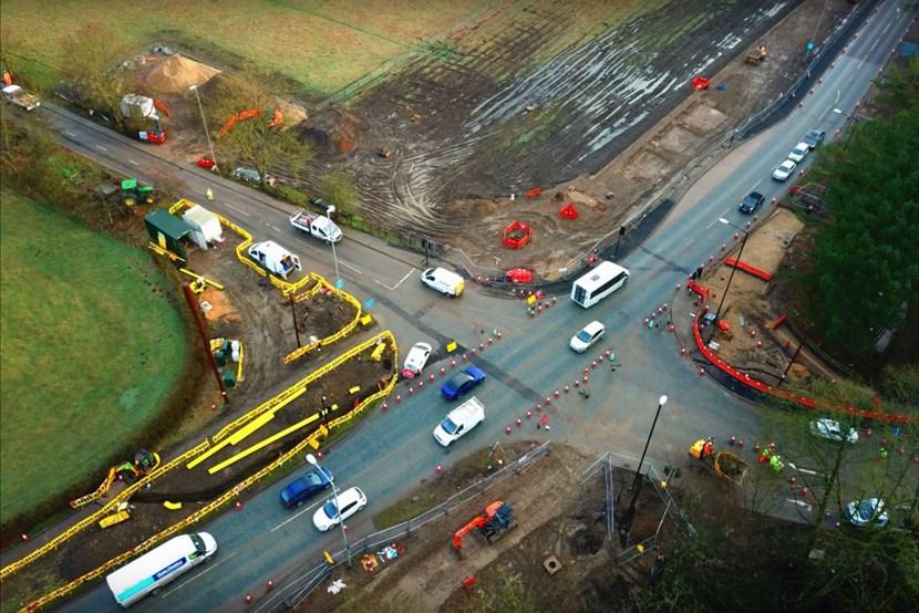Tree planting days to help new East Leeds transport infrastructure take root: elorroundhayroundaboutcfeb2019-403064.jpg