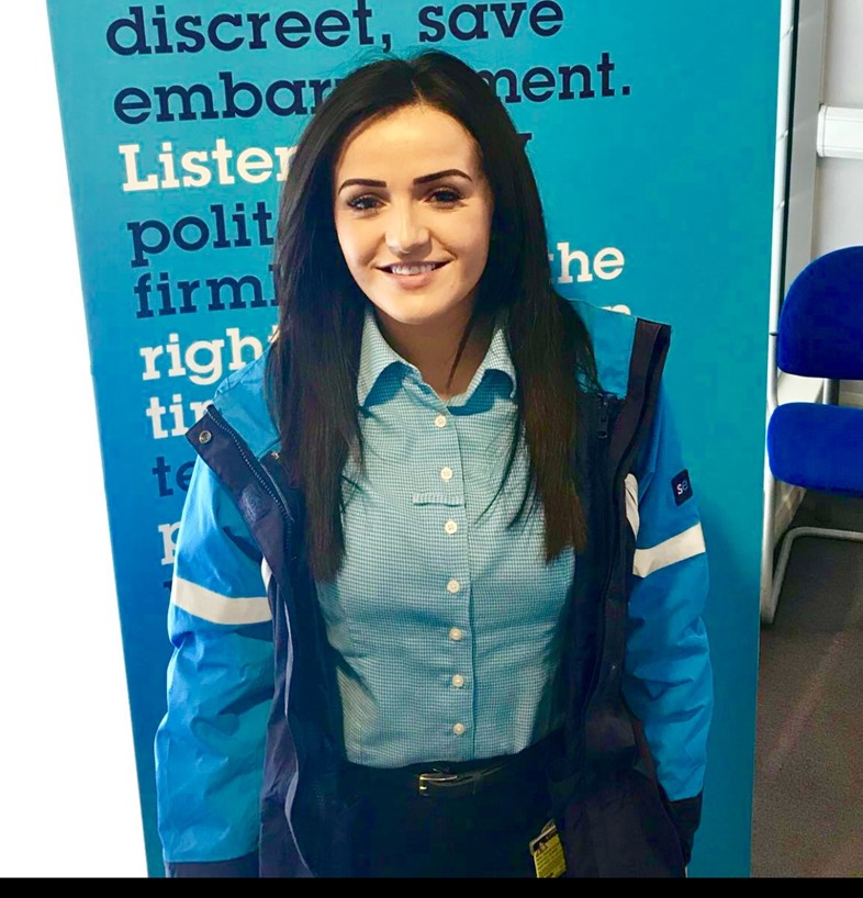 Eleanor Gregory - Revenue Protection Officer - Dartford