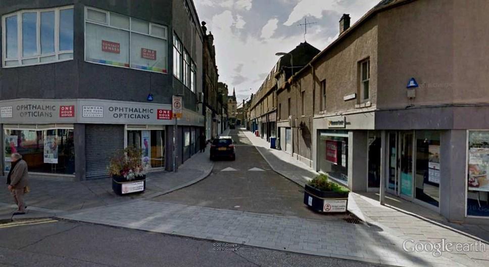 Temporary street restrictions in Elgin: BatchenStreet