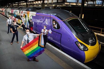 Avanti West Coast Pride Train 6