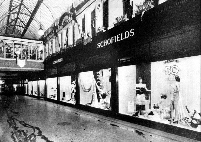 Fast X Slow Fashion online: The old Schofield's store in Leeds, once regarded as the pinnacle of retail.