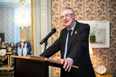 200304 First Minister of Wales Mark DRakeford