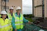 Housing Minister Margaret Burgess announces HEEPS allocation