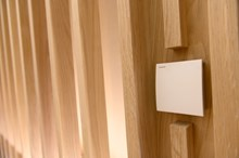 Halle Siemens Sensors will monitor and automatically adjust temperature air quality and lighting to achieve optimal room conditions (002)