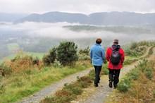 Walkers in Perthshire - credit Lorne Gill-NatureScot