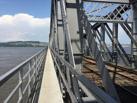 Tay Bridge - refurbished metalwork