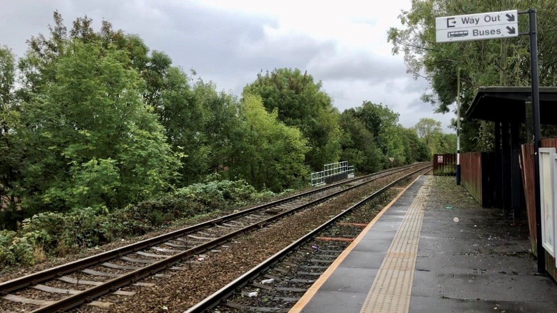 Passengers urged to plan ahead for weekend upgrades on East Lancashire and Darwen lines: Hall I'th Wood station
