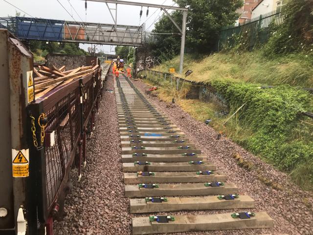 Upton Track works 4