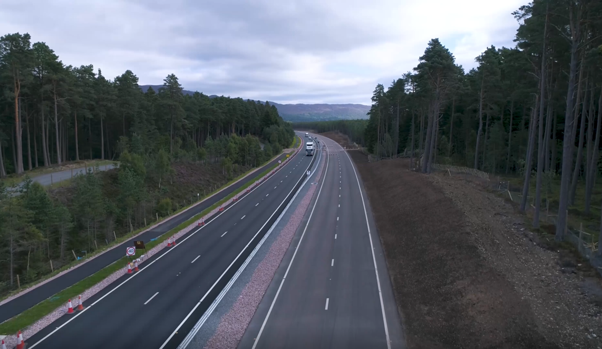 New A9 Dual Carriageway Opens